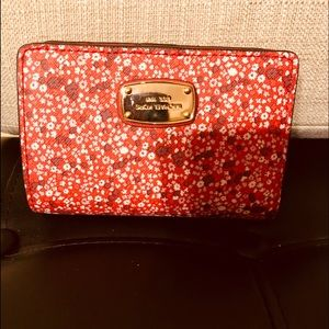 Michael Kors Sangria red wallet